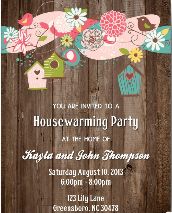 housewarming invitations templates