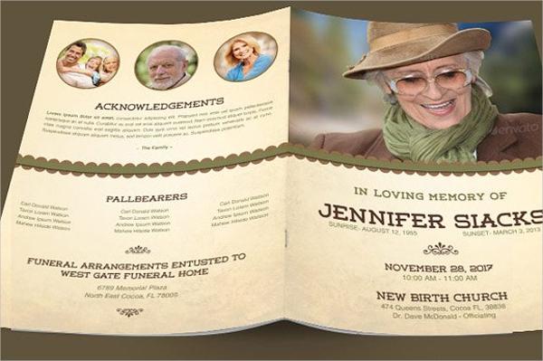 9 Funeral Brochures