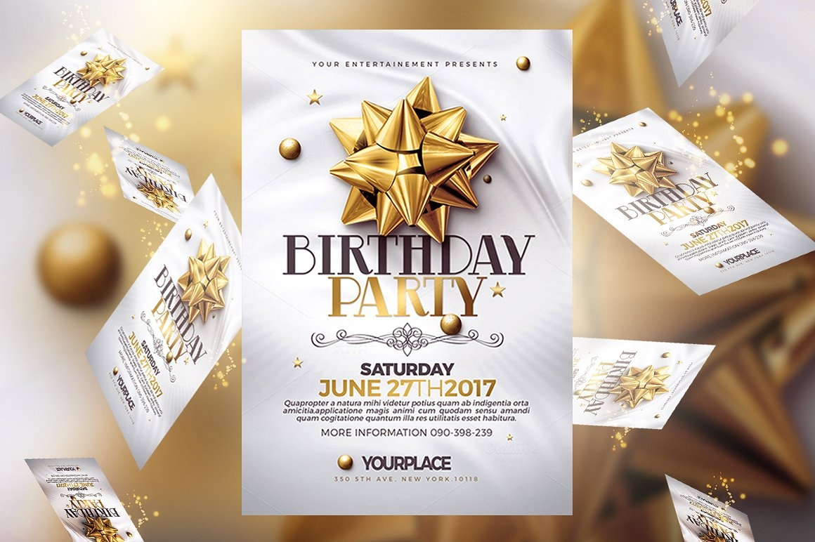 31 Invitation Flyer Templates