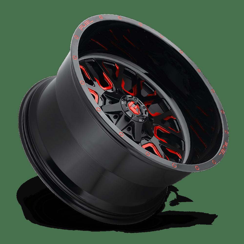 Fuel 1 Piece Wheels Stroke D612 Wheels Down South