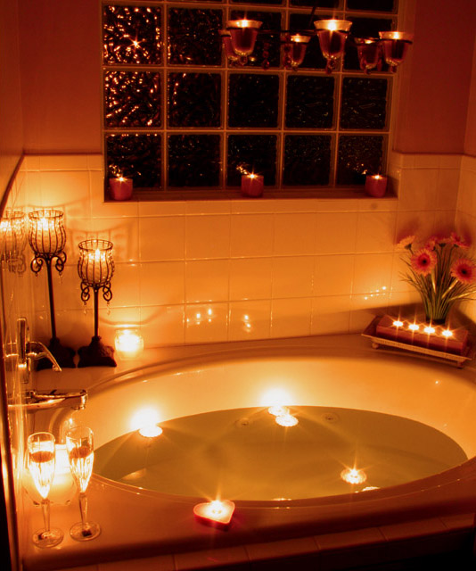 Candlelight Challenge  Bath Time Two by youngnova