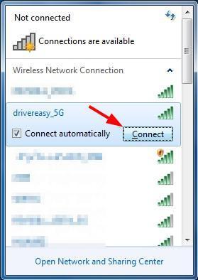 Cara Mengaktifkan Wifi Di Windows 7 : mengaktifkan, windows, Connect, Windows, [Solved], Driver
