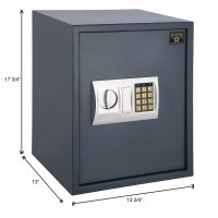 Hidden Wall-Safe Home Gun Cash Jewelry Security Lock ...