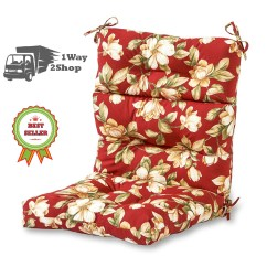 48 High Back Outdoor Chair Cushions Graco Winnie The Pooh Patio Cushion Red Replacement For Deep