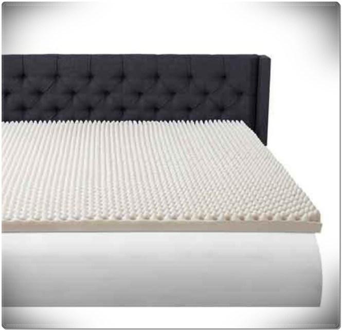 Foam Topper Convulated Pad Queen Size Bed Mattress