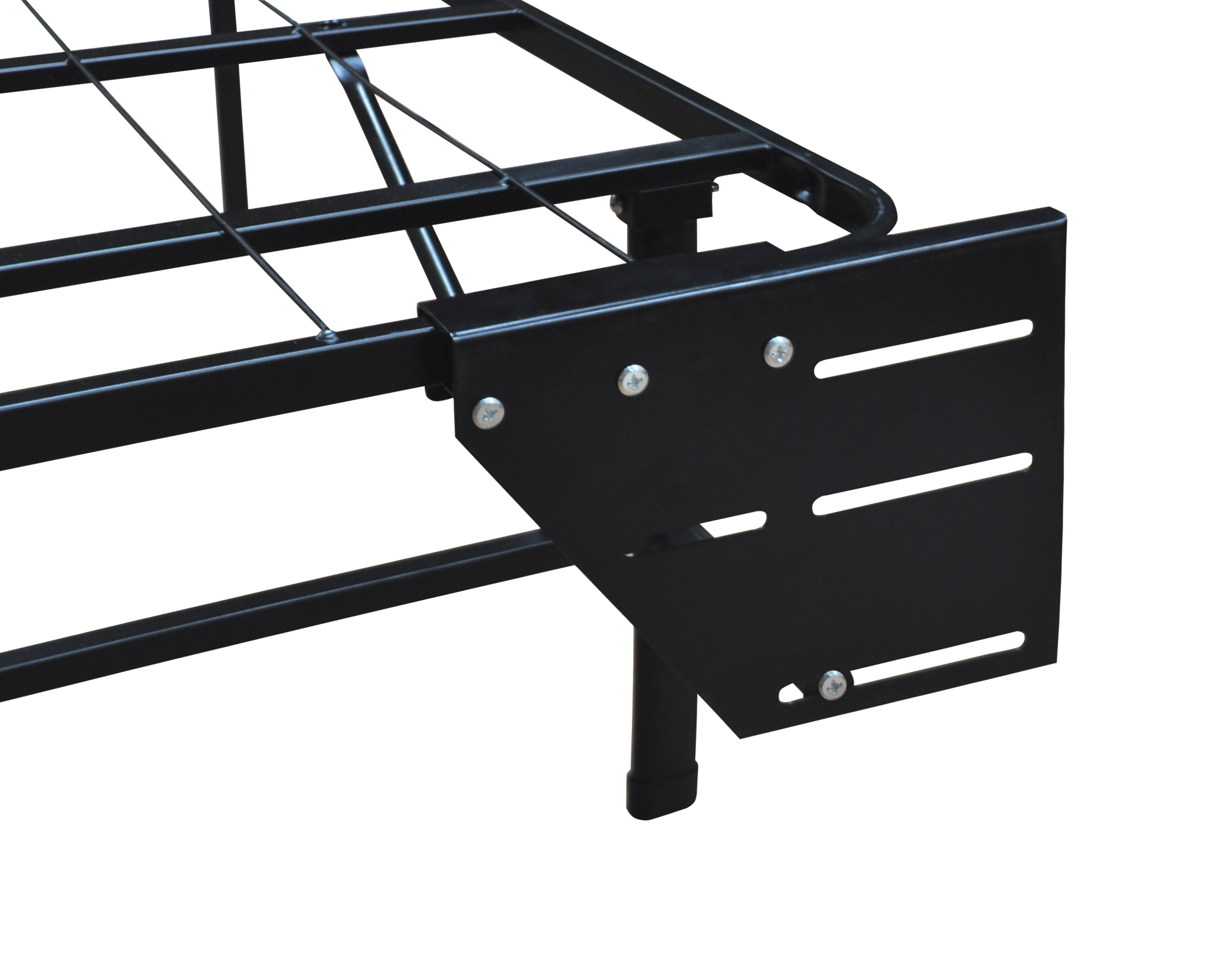 Classic Metal Platform Bed Frame Cal King Dream Steel Box