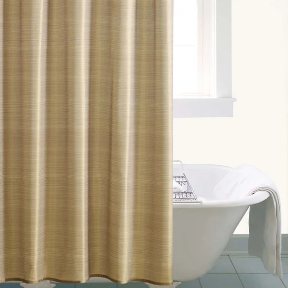gold sparkle shower curtain