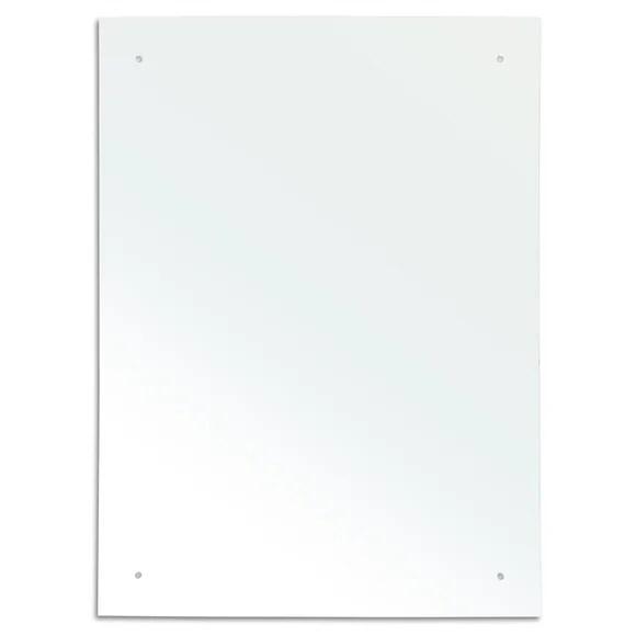 Plain Rectangular Mirror  Dunelm