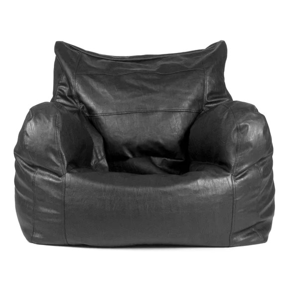 faux leather sofas canada sofa chairs for sale in uganda bean bag corner compare prices on chair online ...