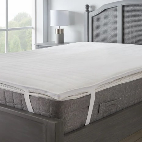 Cooler Than Memory Foam Mattress Topper