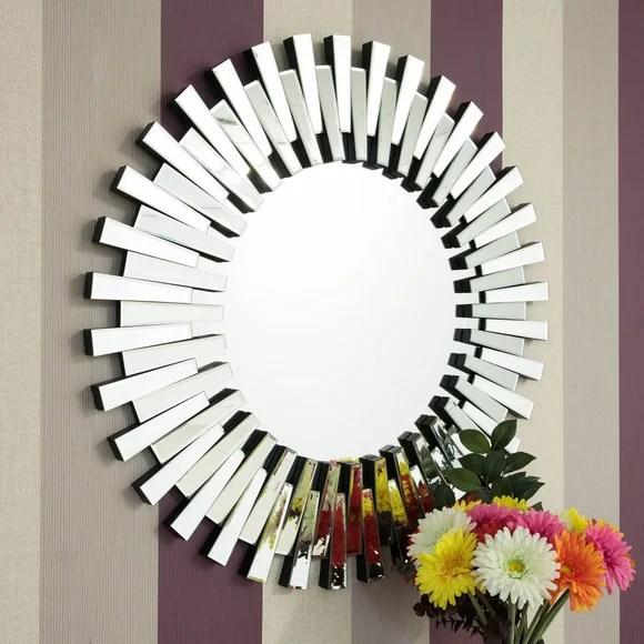 Starburst Wall Mirror  Dunelm