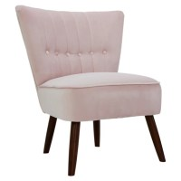 Blush Pink Isla Chair | Dunelm
