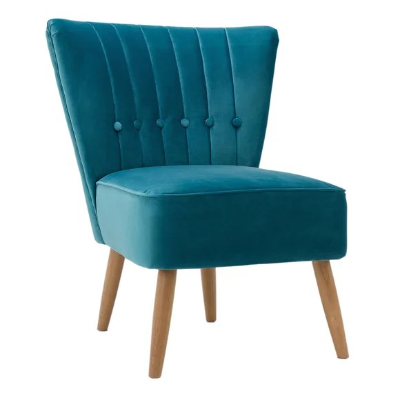Teal Isla Chair  Dunelm