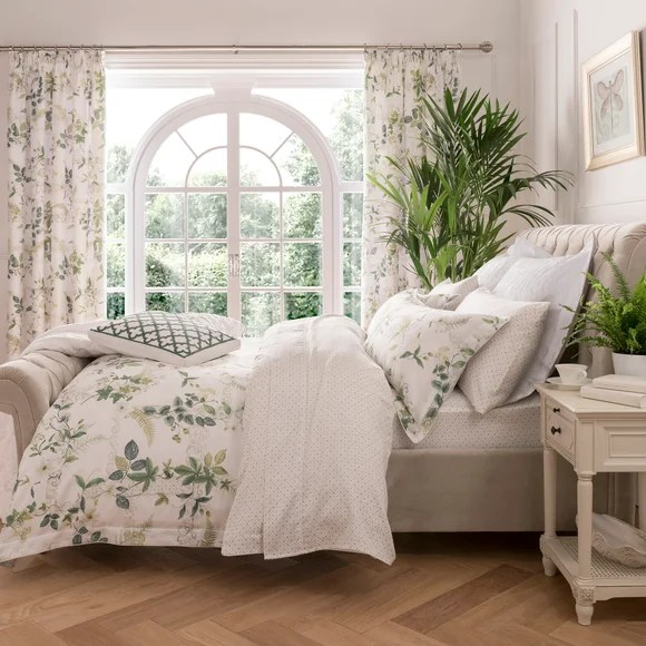 sofas delivered next day refilling sofa cushions dorma botanical garden bed linen collection | dunelm