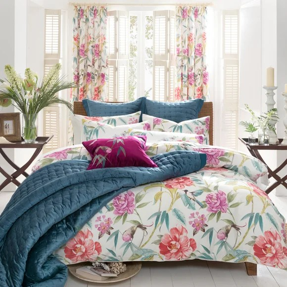 Dorma Tropical Cordelia Bed Linen Collection  Dunelm