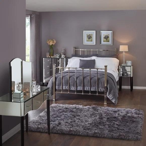 Viola Mirrored Bedroom Collection  Dunelm