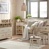 Sidmouth Cream Living Room Collection | Dunelm