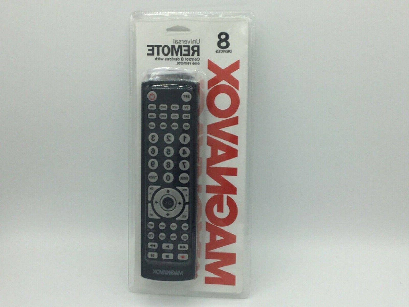 Magnavox 8-in-1 Universal Remote For TVs , Digital