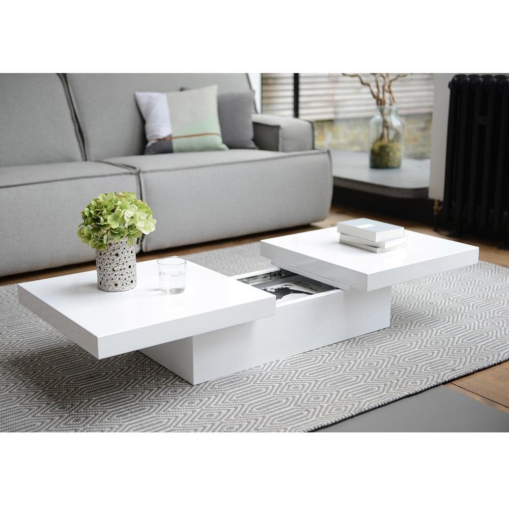 basso two block storage coffee table white dwell 299