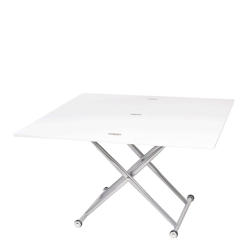 salire extending coffee table white dwell 499