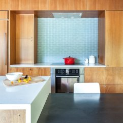 Glass Kitchen Backsplash Vintage Cabinet Hardware Best Modern Tile Backsplashes Design Photos And Ideas The Owners Of This Home Selected A Geometric Patterned By Island Stone