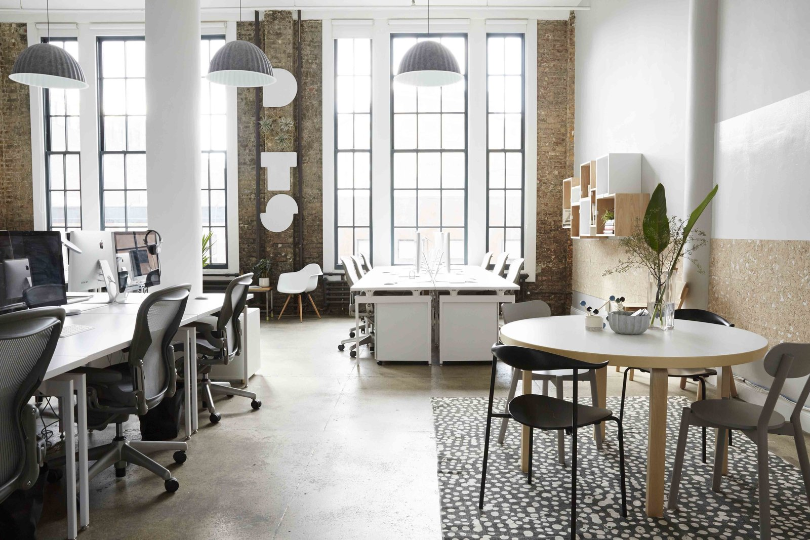 ScandinavianInspired Office Design in NYC Collection of 6