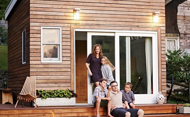 A Family Builds A Tiny Backyard Studio On An Even Tinier