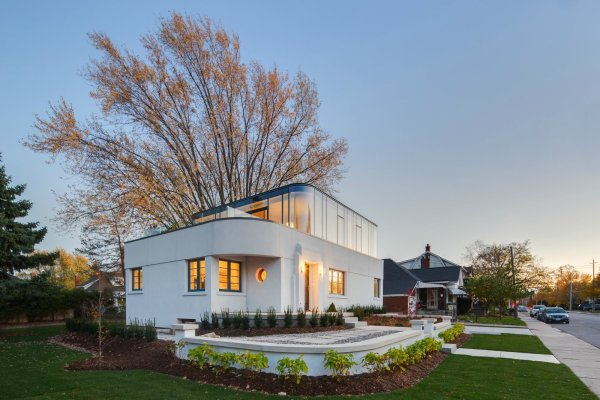 9 Of 16 In 15 Modern Additions Traditional Homes Art Moderne - Dwell