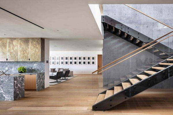 Best 22 Modern Staircase Glass Railing Wood Railing Design Photos   Steel And Wood Staircase   Steel Cable   Construction   Beautiful   New Model   Detail
