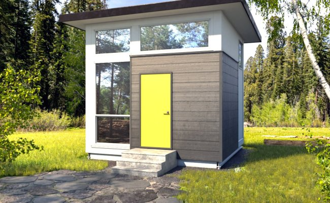 Cube Tiny House By Nomad Micro Homes Dwell