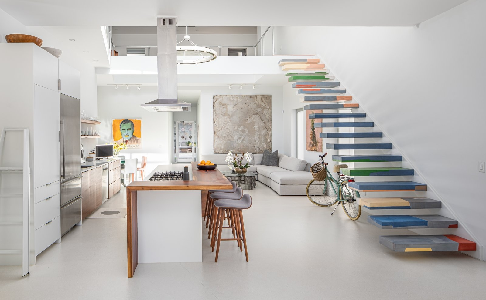 This Industrial Modern Residence In Charleston Is A Showcase For | Pop Design For Stairs Wall | Frame Up | Main Entrance | Wall Paper | Entry Wall | Luxury