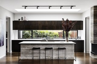kitchen track lighting painting cabinet ideas best modern design photos and dwell in this australia a freestanding island is lit by skylight