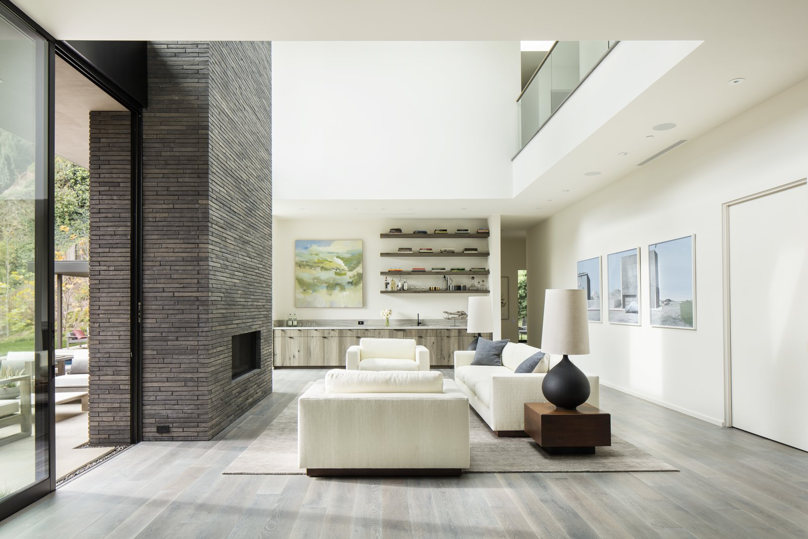 Family Room Layout With Fireplace