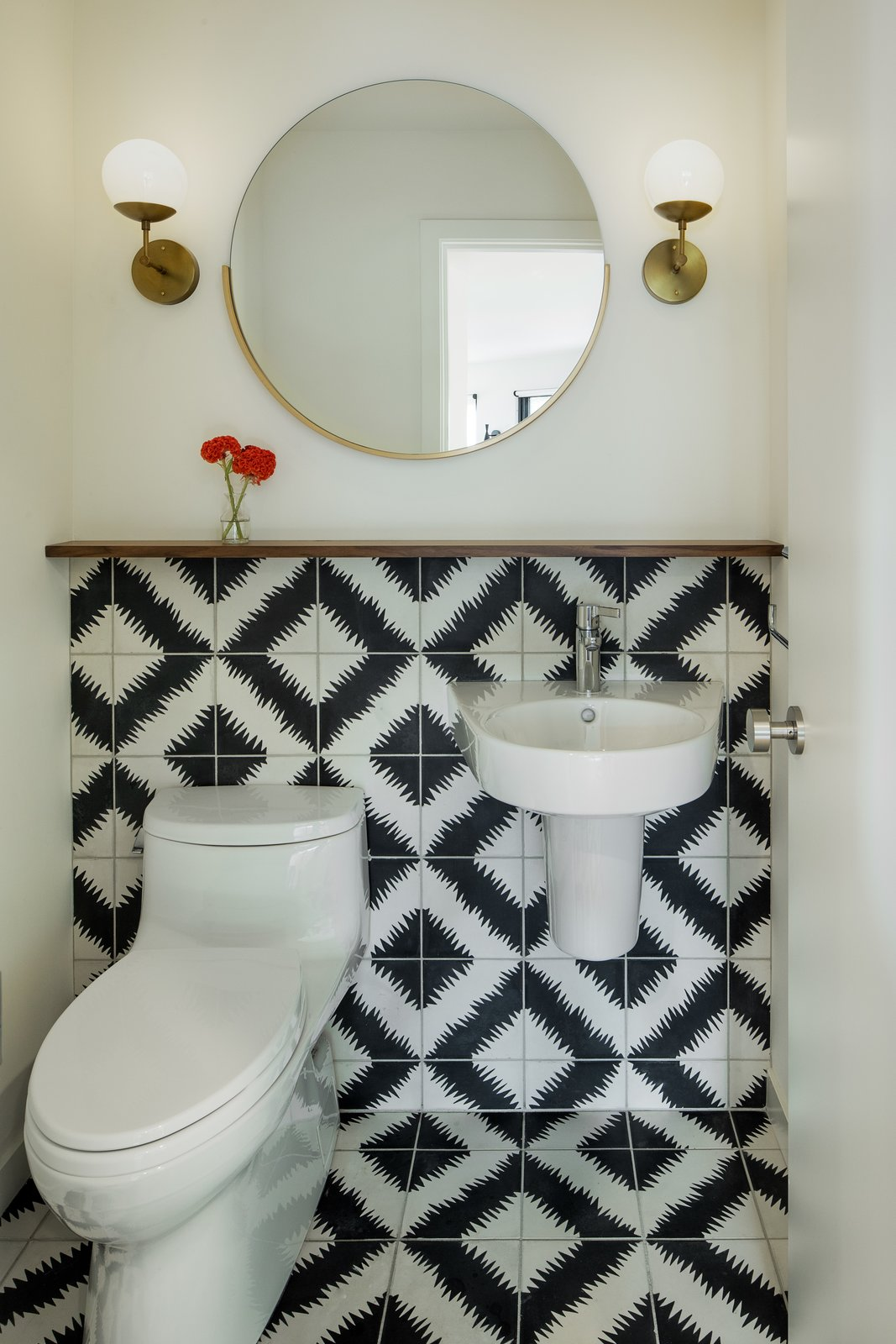 photo 10 of 12 in bath cement tile wall