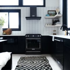 Modern Kitchen Rugs Kitchenaid Scale Best 60 Rug Floors Design Photos And Ideas Dwell The Is From Kat Maouche