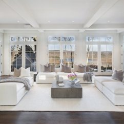 Living Rooms With Dark Wood Floors Modern Room Rug Best Hardwood Design Photos And Ideas The Light Filled In Main House Has Full Height Windows Showcasing