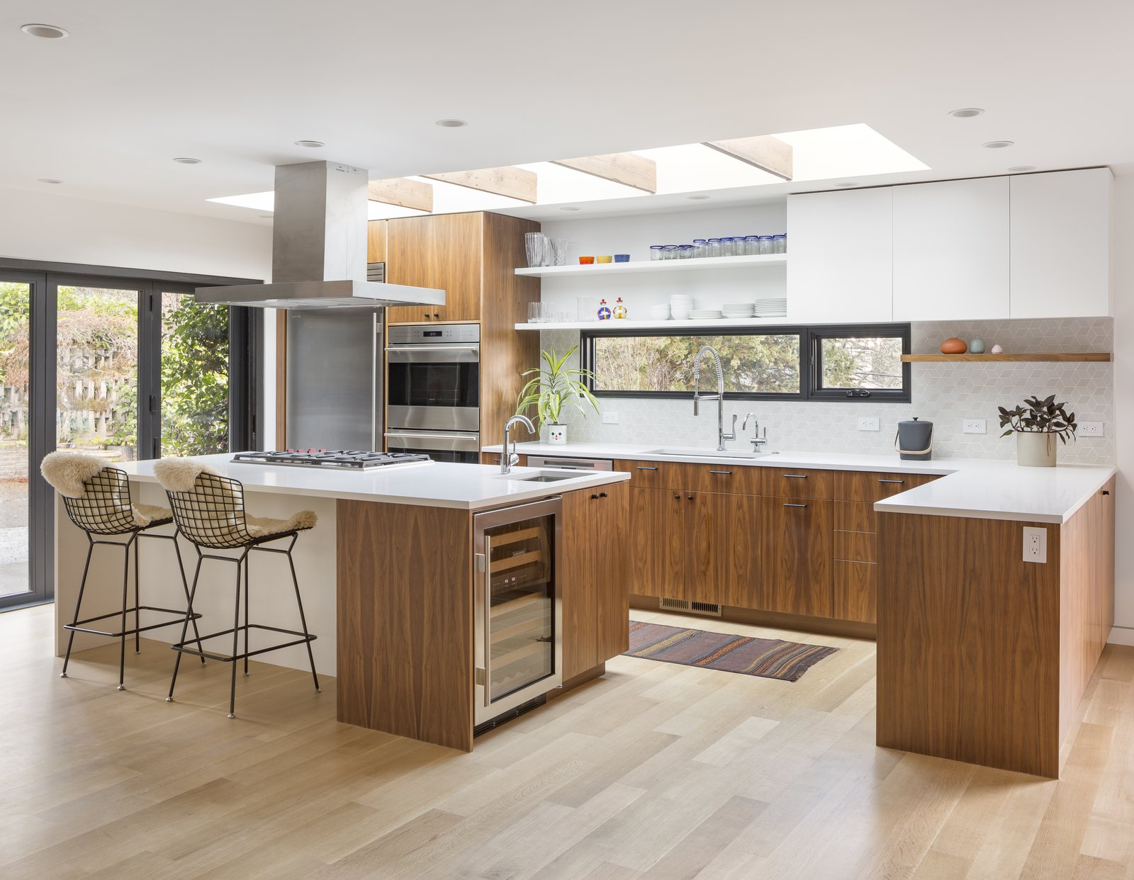 Portland-base pastry chef Andrea Nicholas purchased a 1953 midcentury ranch whose 2,500 square feet needed