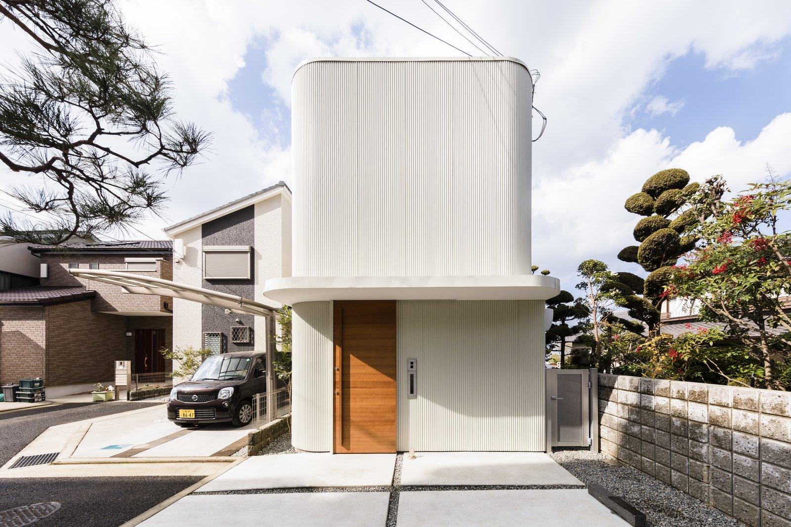 Minimalist Narrow House