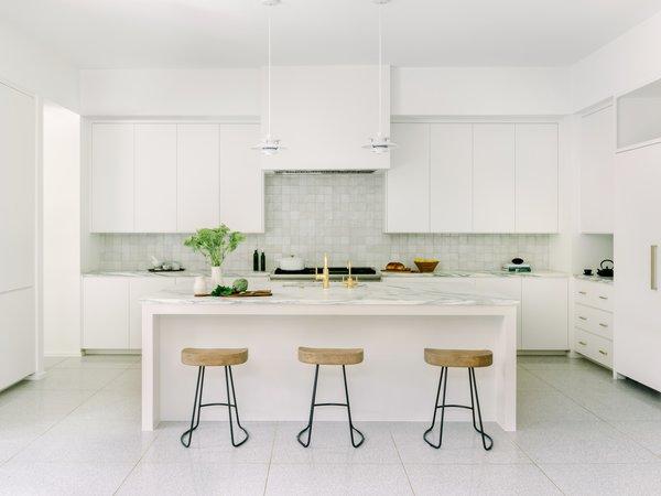 Best 60 Modern Kitchen Glass Tile Backsplashes Design Photos And Dwell