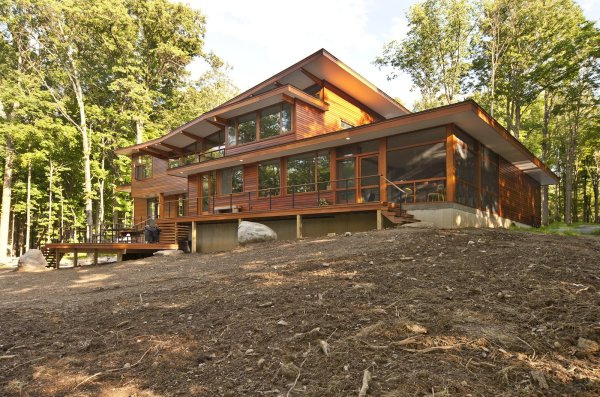 Wallkill River House Modern Home In York Turkel