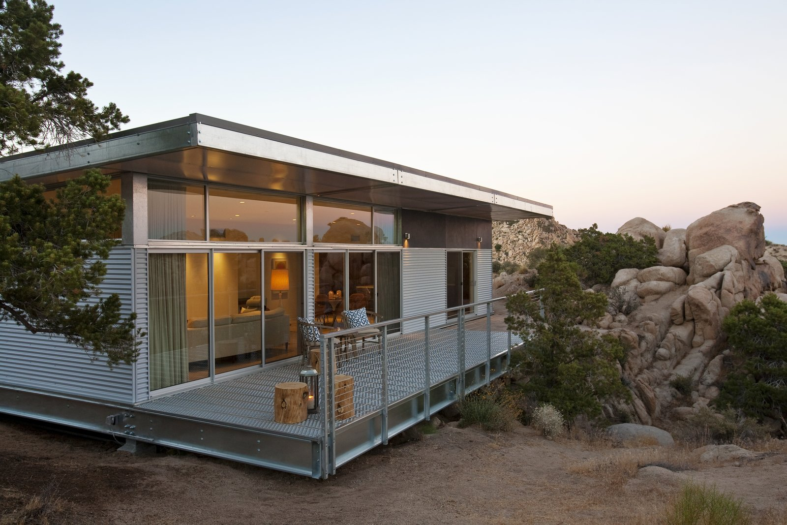 Best Kitchen Gallery: 10 Steel Prefabs That Are Both Modern And Practical Dwell of Build Steel Home on rachelxblog.com