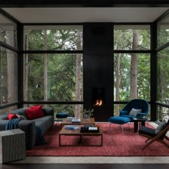 Modern Living Room With Dark Wood Floors Interior Design Ideas For Walls In India Best Hardwood Photos And
