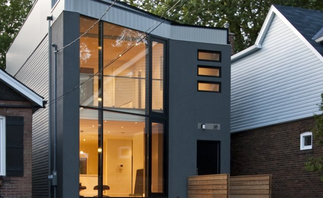 63 House Modern Home In Toronto Ontario Canada By Rzlbd