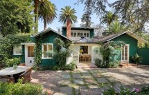 Classic Craftsman Bungalow Charms In Hollywood Hills