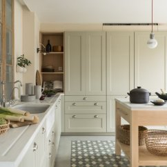 Cement Tile Kitchen Cabinet Latch Hardware Best Modern Floors Design Photos And Ideas Dwell Hydraulic Tiles On The Floor Were Used To Create A Visual Pathway