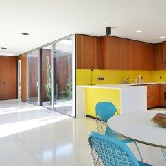 Kitchen Linoleum Whirlpool Appliance Package Best Modern Floors Design Photos And Ideas Dwell Floor To Ceiling Jalousie Windows Bring In Plenty Of Natural Light