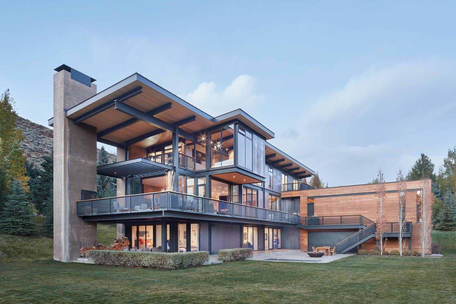 Lake Creek Residence Modern Home in Ketchum Idaho by