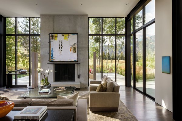 living room console mission furniture best 60 modern tables design photos and ideas stirrup house olson kundig