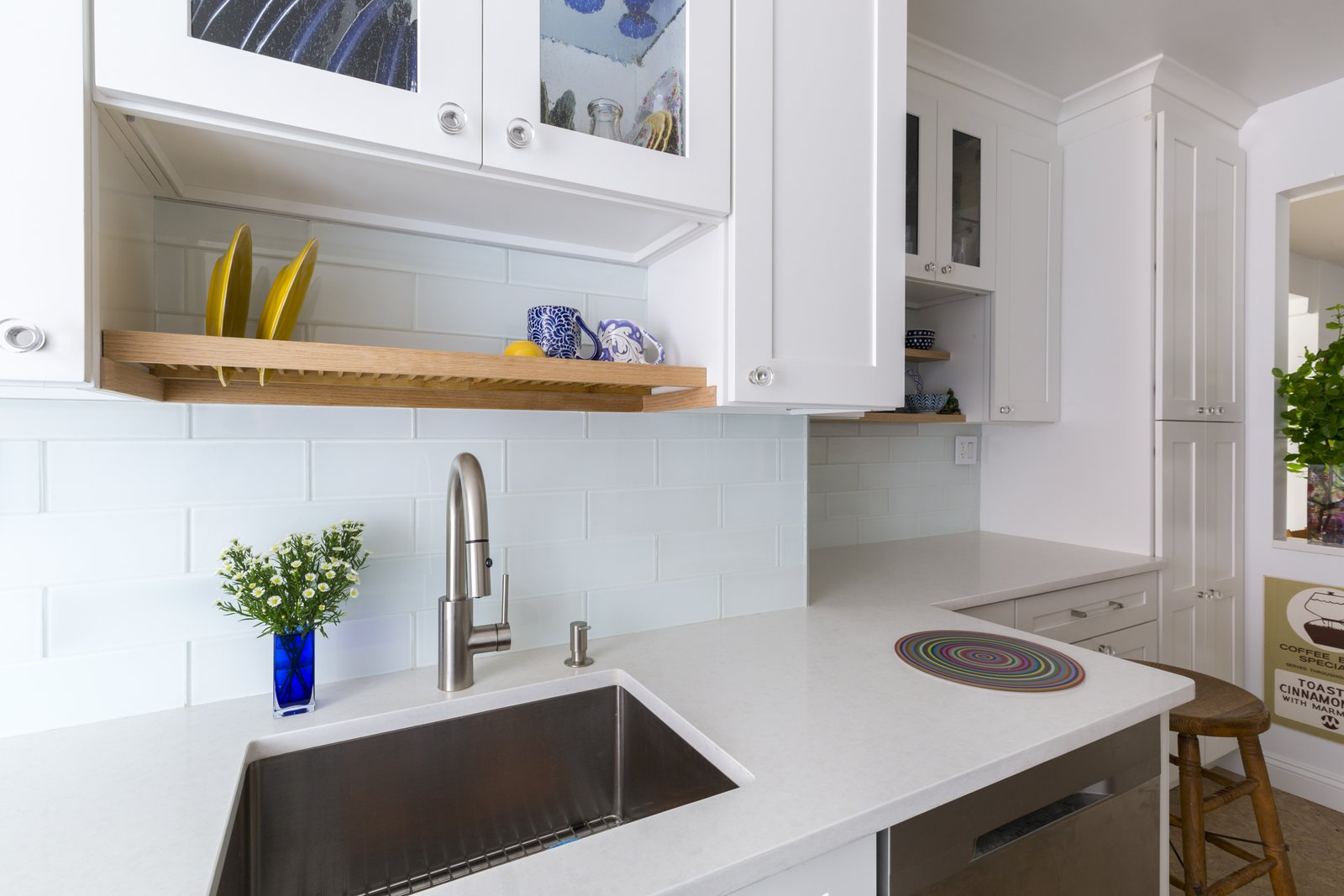 designer renovates her kitchen dwell