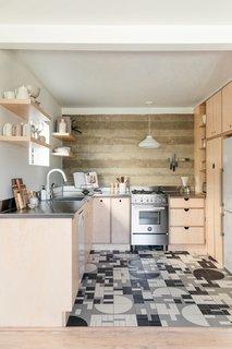 modern kitchen ceramic tile floors